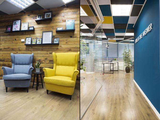 Thiết kế văn phòng chuyên nghiệp và sang trọng 2
