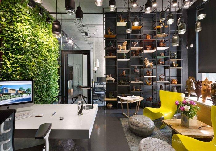 Thiết kế nội thất văn phòng gồm nhiều chi tiết đột phá 1