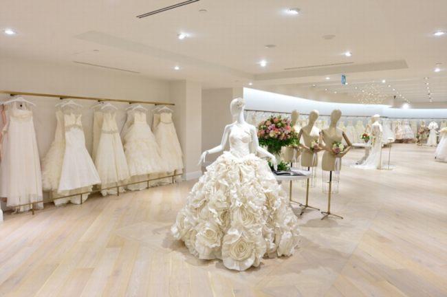 Ngắm mẫu thiết kế showroom áo cưới đẹp 1