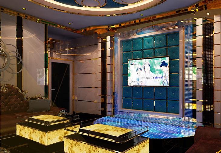 Dự án thiết kế,thi công karaoke,Kiên Lương,Phòng 1 Tân Cổ Điển 2