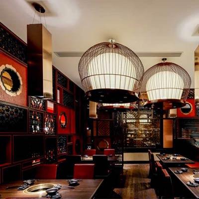 Nhà hàng Trung Hoa phong cách truyền thống