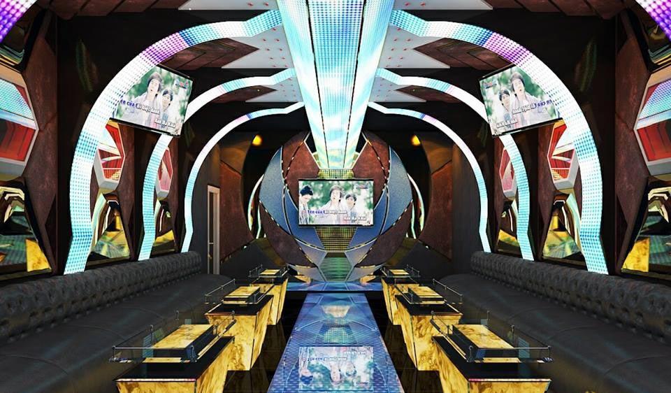 Dự án thiết kế thi công karaoke Kiên Lương Phòng Vip KTV 1