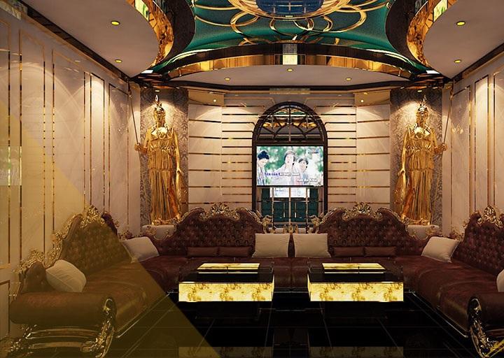 Dự án thiết kế thi công karaoke Đại Thế Giới Phòng 20 a