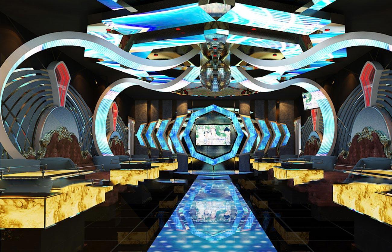 Thiết kế thi công phòng Vip Karaoke Đại Thế Giới,mini bar 2