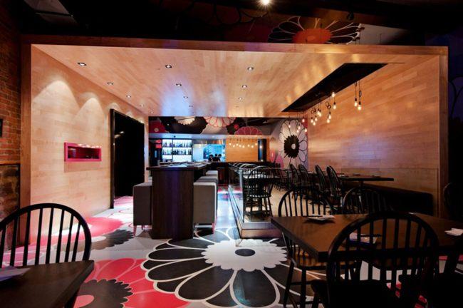 thiết kế nhà hàng hiện đại phong cách Nhật 1