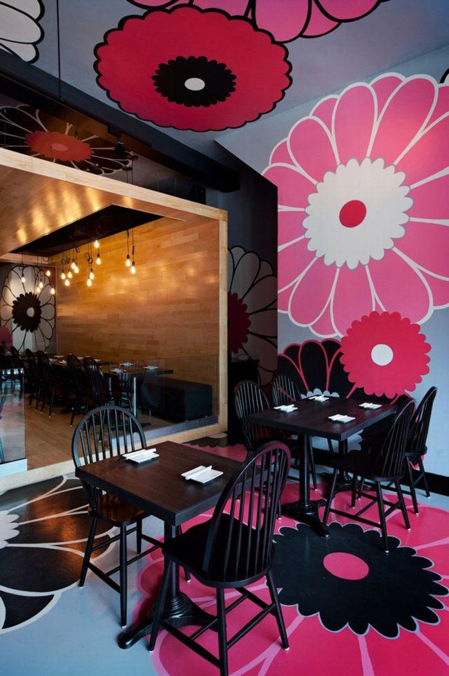 thiết kế nhà hàng hiện đại phong cách Nhật 3