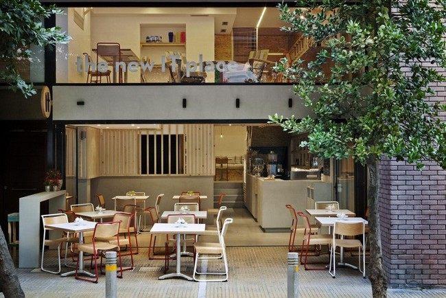 thiết kế quán cafe nội thất gỗ