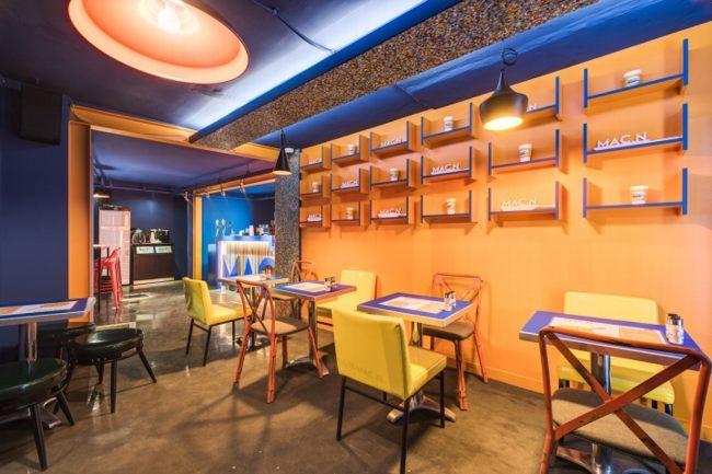 Thiết kế nhà hàng ăn nhanh đẹp mắt ấn tượng