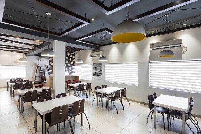 Thiết kế nhà hàng với phong cách hiện đại